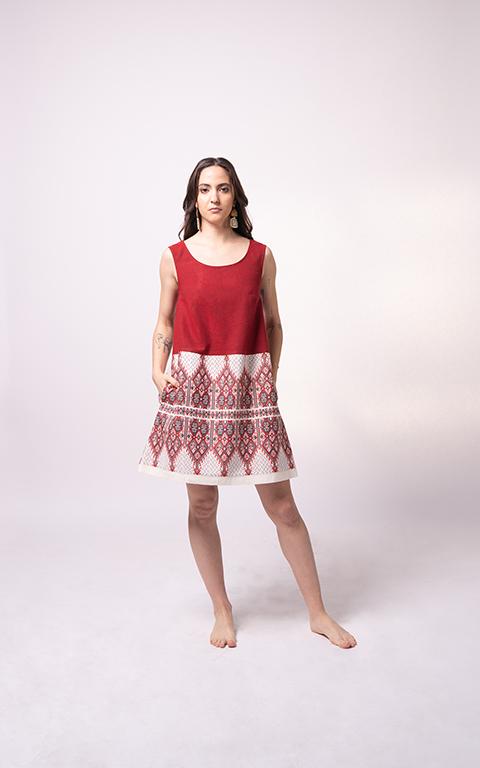 Palaiologue Sartza Red Dress